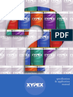 Xypex Specification Manual