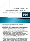 2010- Advertising in Contemporary Society
