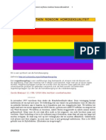 Nieuwe Mythen Rondom Homoseksualiteit