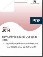 Italy Ceramic Industry Outlook to 2018 - Market Intelligence Report