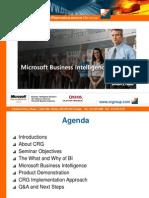 MS BI Presentation May 2007