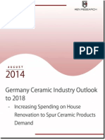 Germany Ceramic Tiles Introduction and Market Size by Production and Consumption Volume