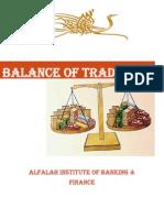 BAlance of Trade(1)
