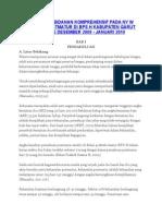 Asuhan Kebidanan Komprehensif Pada Ny w Dengan Postmatur Di Bps h Kabupaten Garut Periode Desember 2009
