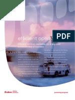 Efficient Operations Brochure