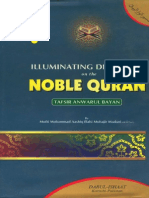 Illuminating Discourses On The Noble Qura'n tafseer Anwar ul Bayan Volume4 By Shaykh Ashiq Ilahi Madni r.a