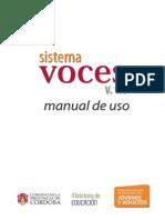 Sistema Voces v1.1 Tutorial