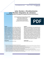 Representações Sociais e Envelhecimento - Uma Revisão Integrativa de Literatura