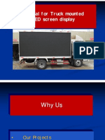 Mobile Van Led Screen on Hire