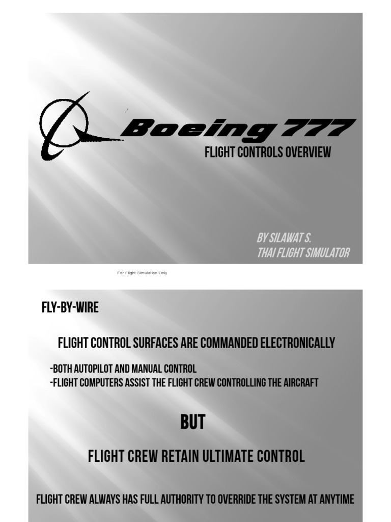 Boeing 777 hydraulic system pdf ebook coupon codes images free b777 lesson 1 flight control aircraft flight control system b777 lesson 1 flight control aircraft flight fandeluxe Gallery
