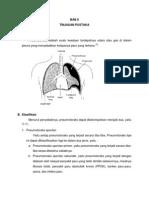 Bab II - Pneumotoraks