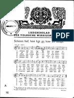 Liederenblad der Volksche Werkgemeenschap