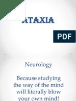 Ataxias Neuro Condition detailed