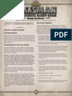 Talisman FAQ 1-1