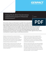 Taking Stock How Can Inventory Optimization Improve Financial Performance(1)