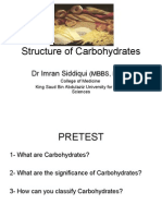 12-Structure of carbohydrates