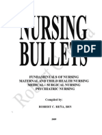 17226936 Nursing Review Bullets