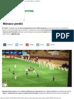 Falcao Anotó en Su Vuelta a La Liga Francesa, Pero Mónaco Perdió _ Mónaco - Play