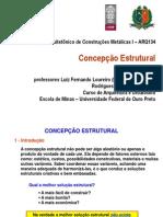 Concepção Estrutural - UFOP