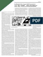 """Das Phantom der DDR-""""Altschulden"""""""
