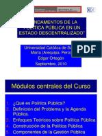 Fundamentos de Politica 2010