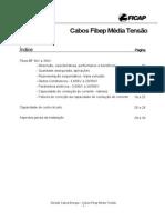 Cabos Ficap (Tabela de Secção Nominal)