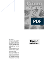 Como Estudiar Thomas F Staton Editorial Trillas