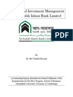Internship Report on Deposit and Investment Management of Al-Arafah Islami Bank Limited