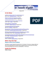Cooler Heads Digest 8 August 2014