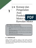 Topik 1 Konsep Dan Pengenalan Asas Pembelajaran Motor Serta Kawalan Motor