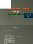 JMeter - Oracle Database Testing