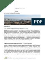 Revue de Presse Du 1.08.14 Au 7.08.14
