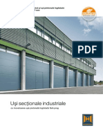 Usi Sectionale Industriale RO