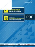 Der Connected Brands Index - Airlines in Europa und dem Mittleren Osten