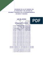 Ley_26702 Ley Del Sistema Financiero