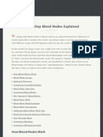 A Detailed Explanation of How Photoshop Blend Modes Work
