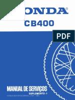 Honda Cb400 83 Servico