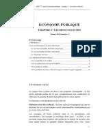Economie Publique Chapitre1