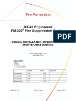 Fm 200 Novec1230 Inergen Fire Suppression Systems
