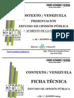 Hercon - Incrento Gasolina Agosto 2014