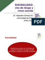 Suicidalidad, Fact Riesgo y Crisis Suicida