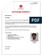 Knowledge Initiative - July 2014