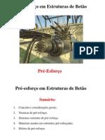 AULA 1 - Pre-esforco Em Estruturas de Betao