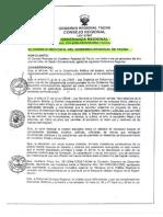 Ordenanza Regional Tacna