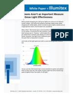 Lumens vs PPFD