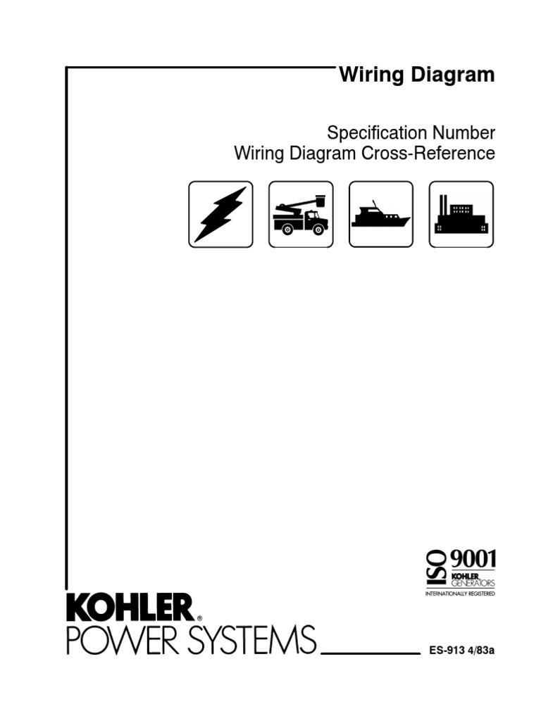 kohler marine generator wiring diagram kohler diy wiring diagrams kohler wiring diag cross