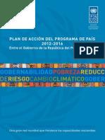 Plan de Accion Programa Del PaisCPAP-PNUD_2012-2016