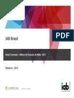 Online users in brasil 2013