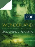 Wonderland by Joanna Nadin Sample Chapter