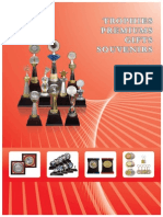 Trophies and Medals Catalogue